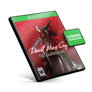 Devil May Cry HD Collection - Xbox One - Código 25 Dígitos