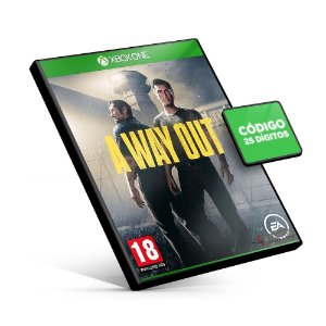 A Way Out - Xbox One - Código 25 Dígitos