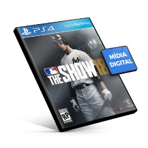 MLB The Show 18 - PS4 Mídia Digital