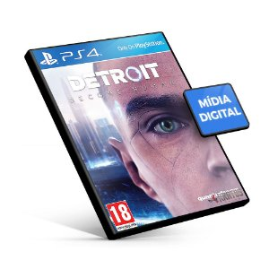 Detroit Become Human - PS4 Mídia Digital