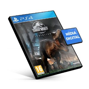 Jurassic World Evolution - PS4 Mídia Digital