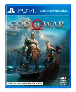 God Of War - PS4 Mídia Física