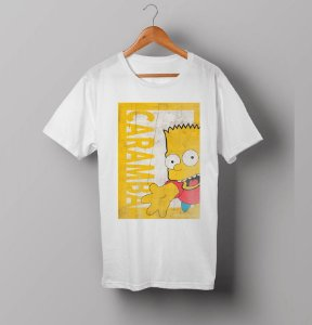 Camiseta - Bart Simpsons - Caramba