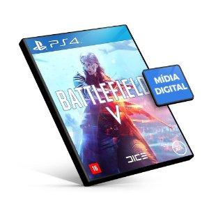Battlefield V - PS4 Mídia Digital