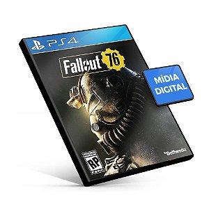 Fallout 76 PS4 Mídia Digital