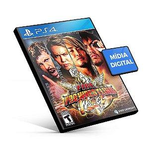 Fire Pro Wrestling World PS4 Mídia Digital Pré-Venda 28/08
