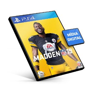 Madden NFL 19 - PS4 Mídia Digital