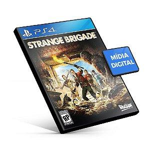 Strange Brigade PS4 Mídia Digital Pré-Venda 31/12