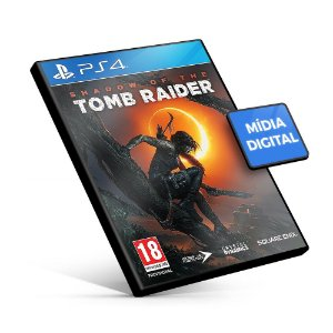 Shadow of the Tomb Raider PS4 Mídia Digital