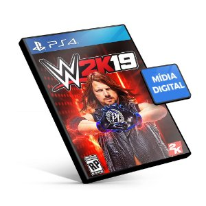WWE 2K19 PS4 Mídia Digital