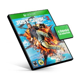 Just Cause 3 - Xbox One - Código 25 Dígitos