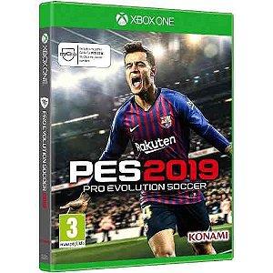 PES Pro Evolution Soccer 2019 - Xbox One Mídia Física