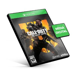 Call Of Duty Black Ops 4 - Xbox One - Mídia Digital