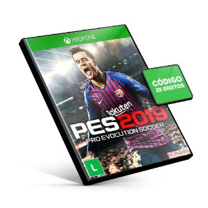 PES 2019 - Xbox One - Código 25 Dígitos