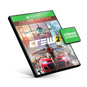 The Crew 2 Deluxe Edition - Xbox One - Código 25 Dígitos