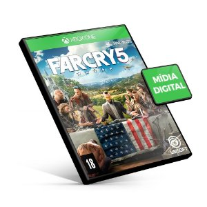 Far Cry 5 - Xbox One - Mídia Digital
