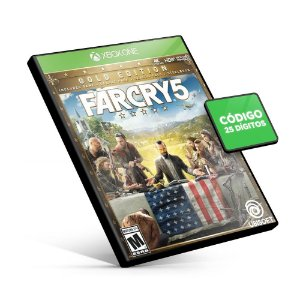 Far Cry 5 Deluxe Edition - Xbox One - Código 25 Dígitos