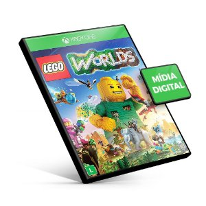Lego Worlds - Xbox One - Mídia Digital