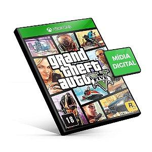 Grand Theft Auto V - GTA Xbox One - Mídia Digital
