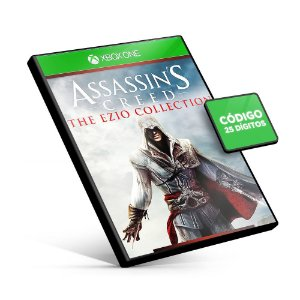 Assassins Creed The Ezio Collection - Xbox One - Código 25 Dígitos