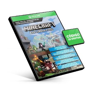 Minecraft - Explorers Pack DLC - Xbox One - Código 25 Dígitos