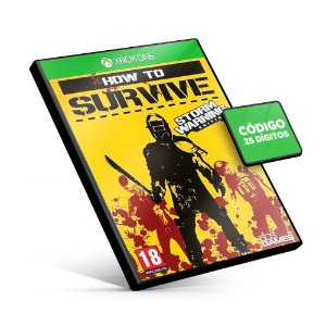 How to Survive - Storm Warning Edition - Xbox One - Código 25 Dígitos