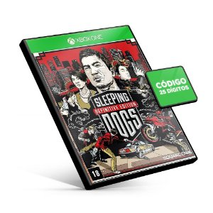 Sleeping Dogs Definitive Edition - Xbox One - Código 25 Dígitos