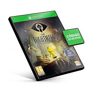 Little Nightmares - Xbox One - Código 25 Dígitos