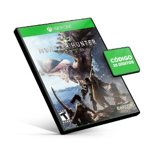 Monster Hunter World - Deluxe Edition - Xbox One - Código 25 Dígitos