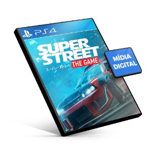 Super Street: The Game - PS4 Mídia Digital