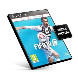 Fifa 19 Legacy Edition - PS3 Mídia Digital -  Português