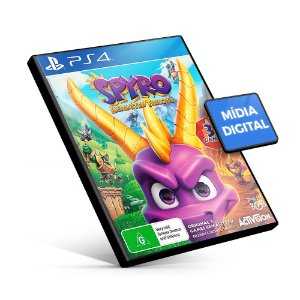 Spyro™ Reignited Trilogy - PS4 Mídia Digital