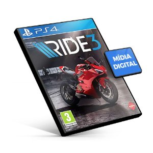 RIDE 3 PS4 Mídia Digital