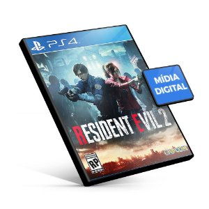 RESIDENT EVIL 2 REMAKE - PS4 - Mídia Digital