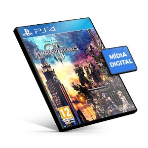 Kingdom Hearts 3 - PS4 - Mídia Digital