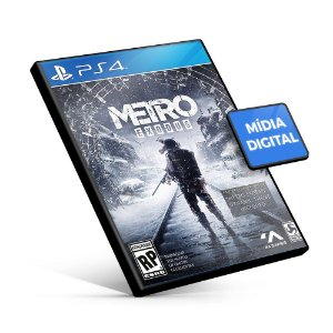 Metro Exodus PS4 - Mídia Digital