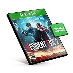RESIDENT EVIL 2 REMAKE - Xbox One - Código 25 Dígitos