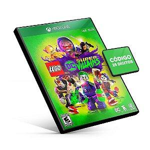 Lego DC Super-Vilões - Xbox One - Código 25 Dígitos