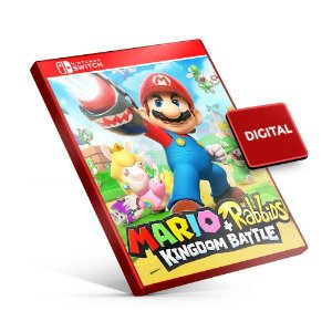 Mario + Rabbids Kingdom Battle - Nintendo Switch Mídia Digital