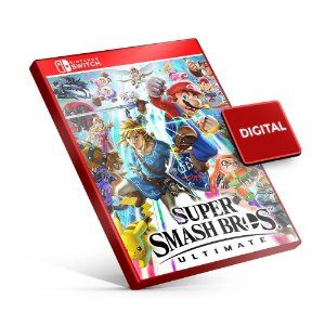 Super Smash Bros. Ultimate - Nintendo Switch Mídia Digital