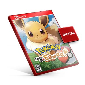 Pokémon Let's Go Eevee! - Nintendo Switch Mídia Digital