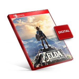 The Legend Of Zelda Breath Of the Wild - Nintendo Switch Mídia Digital