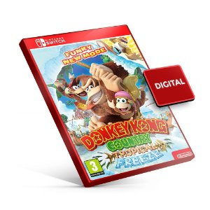 Donkey Kong Country Tropical Freeze - Nintendo Switch Mídia Digital