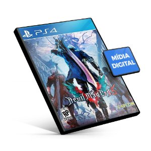 Devil May Cry 5 - PS4 Mídia Digital