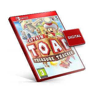 Captain Toad Treasure Tracker - Nintendo Switch Mídia Digital