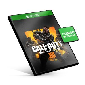 Call Of Duty Black Ops 4 - Xbox One - Código 25 Digitos
