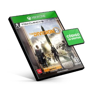 The Division 2 - XBOX ONE Código 25 Digitos