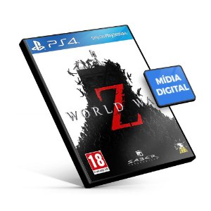 World War Z PS4 Mídia Digital