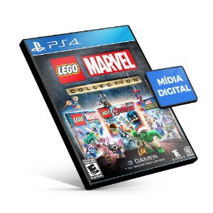 LEGO Marvel Collection - PS4 Mídia Digital