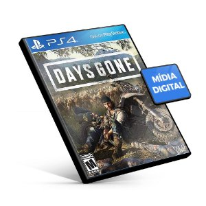 Days Gone - PS4 Mídia Digital